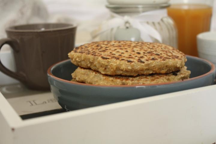 Pancakes aux floconsd'avoine